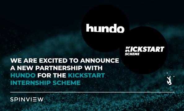 Spinview announces partnership with hundo for Kickstart Internship Scheme